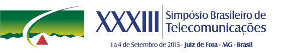 SBrT 2015 | XXXIII Simpósio Brasileiro de Telecomunicações